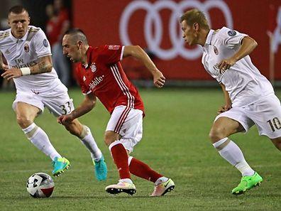 Franck Ribéry a retrouvé du plaisir sur le terrain depuis l'arrivée de Carlo Ancelotti en Bavière.