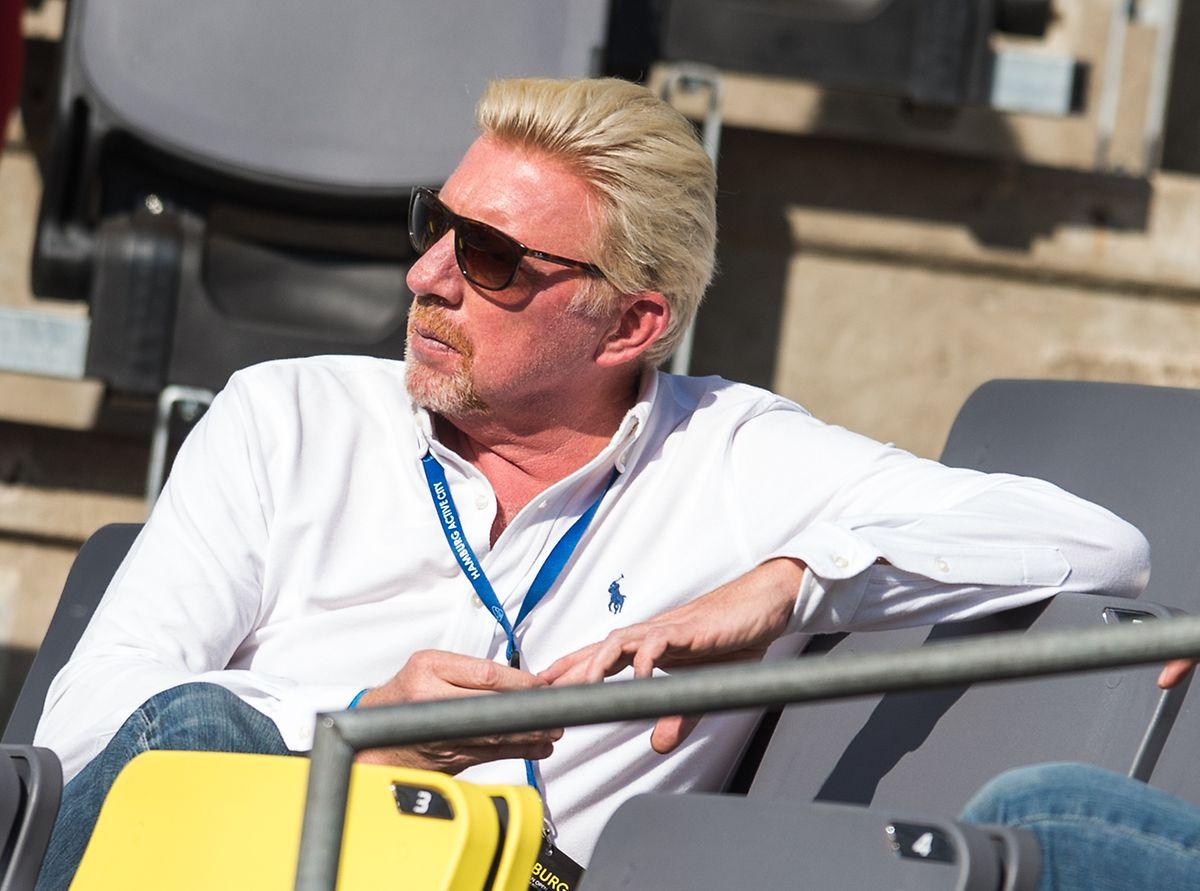 Erfolgreich auf und neben dem Platz, im Privatleben von Skandalen begleitet: Boris Becker