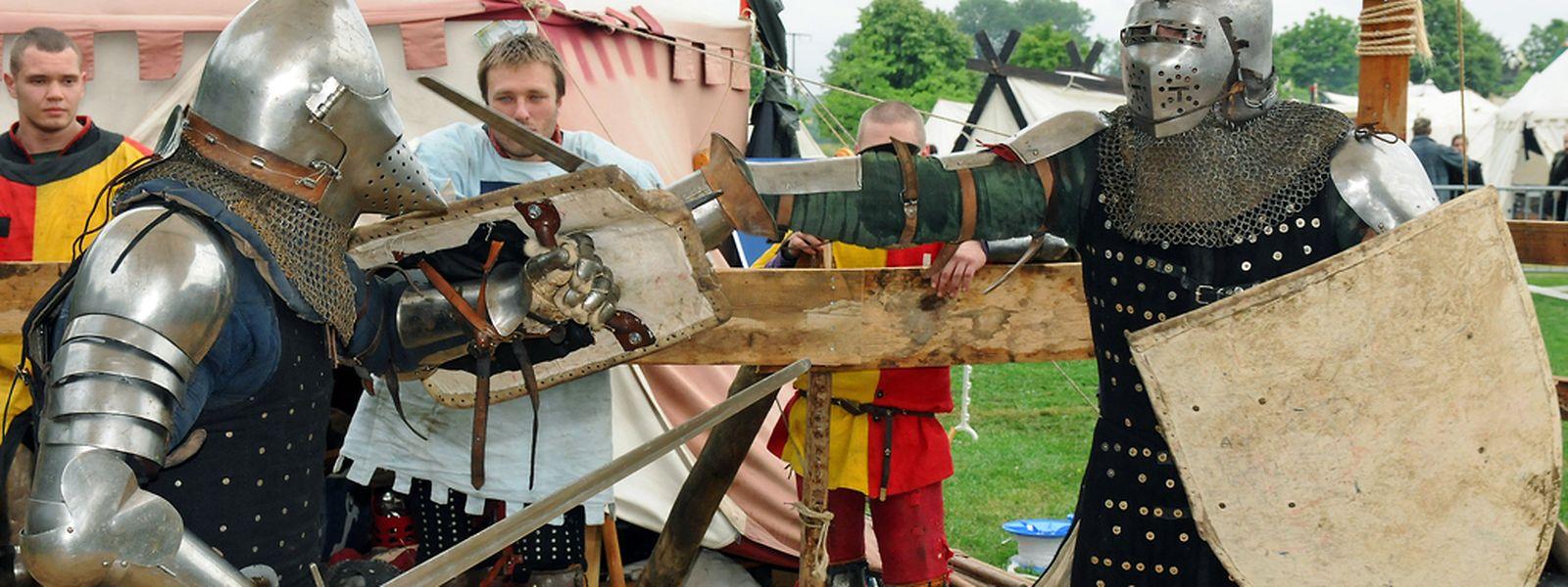 Pour un retour aux temps des chevaliers et des gentes dames, direction Hesperange