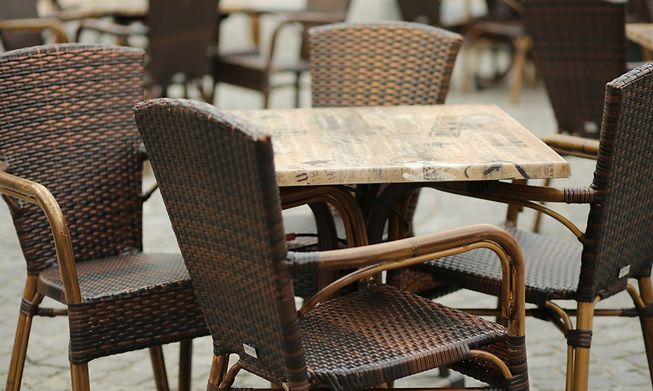 Terraces in bars and restaurants in Luxembourg re-opened on Wednesday under strict conditions