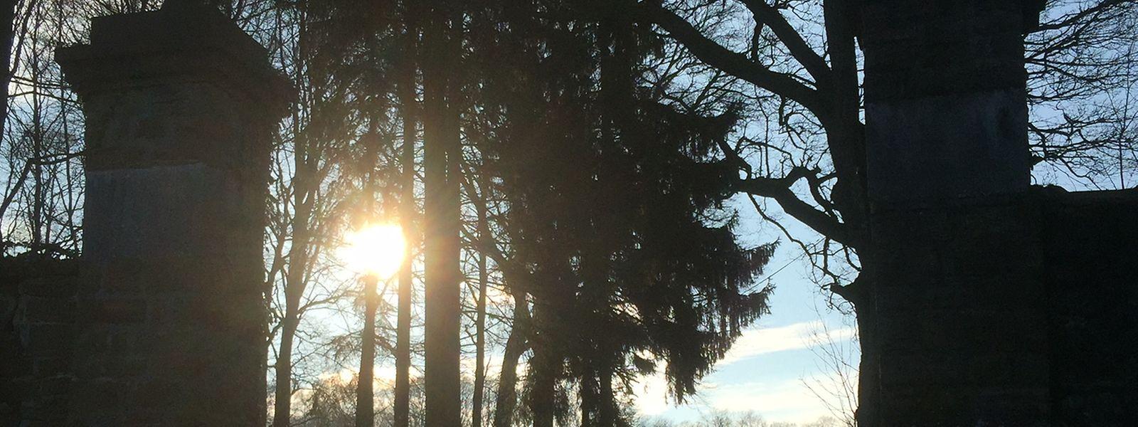 """""""Der Himmel ist offen,  der Himmel ist grenzenlos,  der Himmel hat Weite."""
