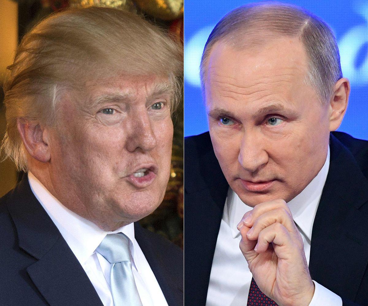 Trump und Putin treffen sich am Montag.