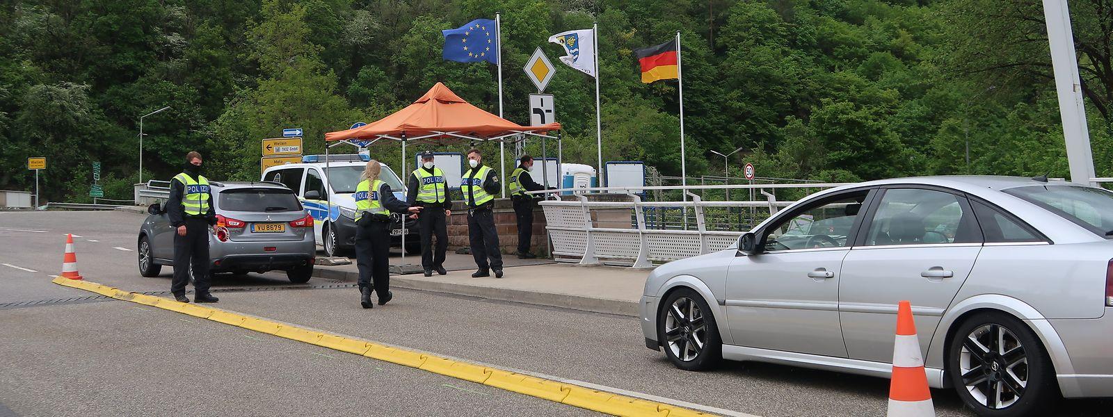 Im Frühjahr 2020 führte Deutschland Grenzkontrollen zu Luxemburg ein.