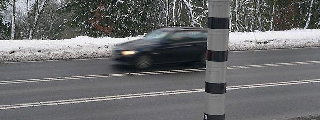Die Radargeräte werden an besonders gefährlichen Straßenabschnitten aufgestellt.
