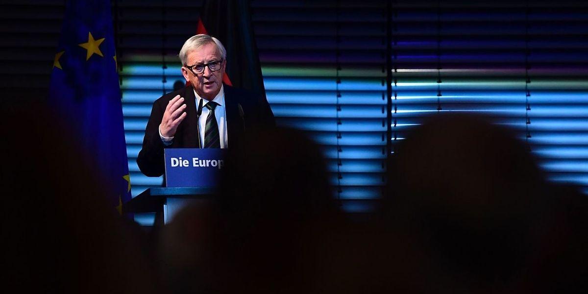 Jean-Claude Juncker erinnerte an den Fall der Mauer.