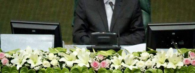 Hassan Rouhani, o Presidente iraniano.