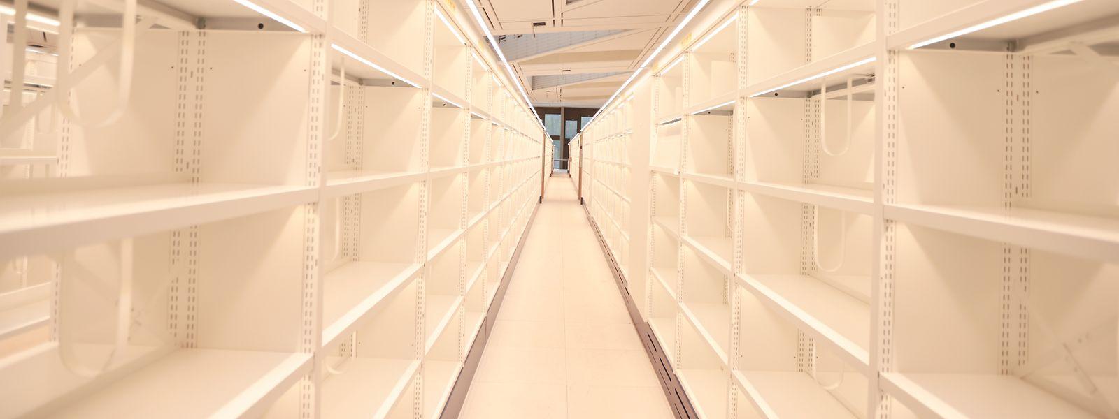 Le transfert des documents de l'ancienne à la nouvelle bibliothèque aura duré quatre mois.