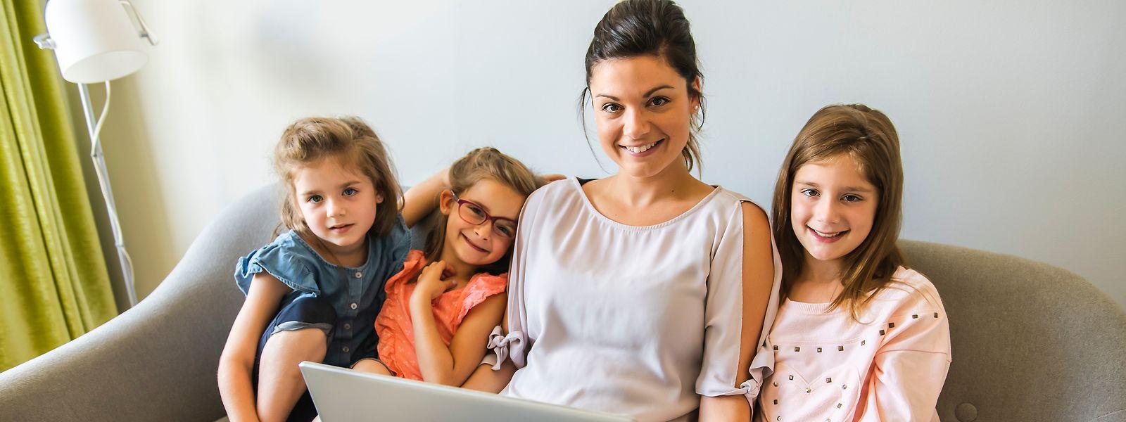 Au Luxembourg, plus de 82% des familles monoparentales sont composées d'une mère et de ses enfants.