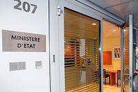 Der Eingang zum SREL-Gebäude an der Route d'Esch