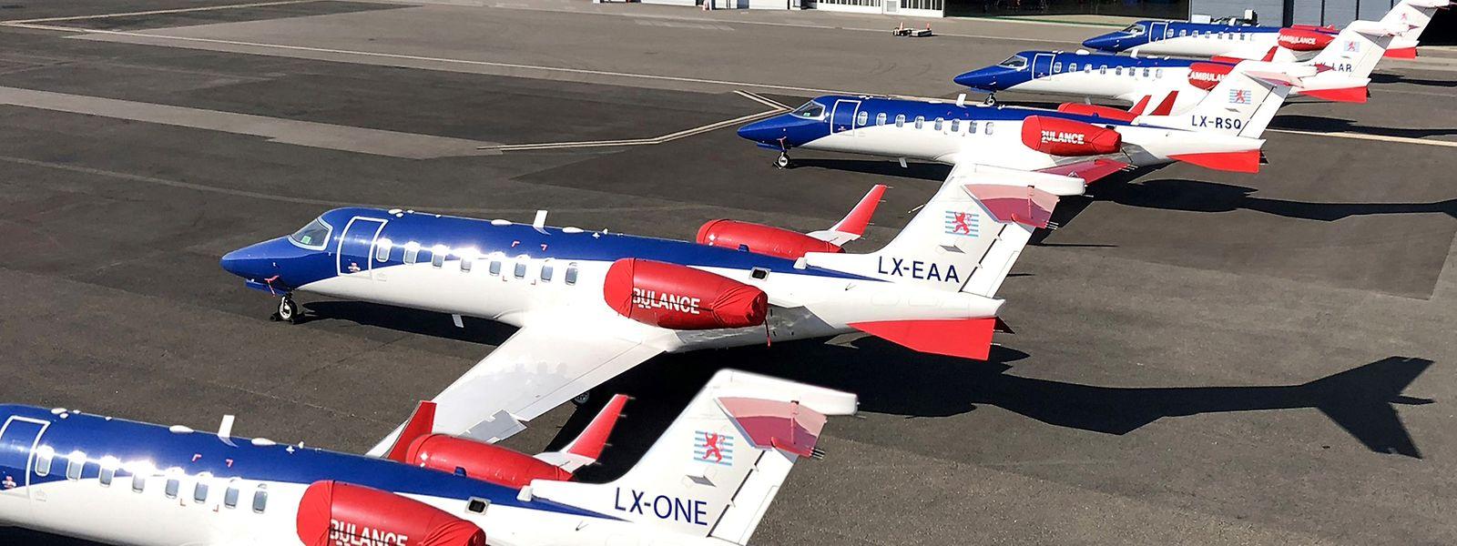 Le nouvel appareil a rejoint le Grand-Duché pour renforcer la flotte de Luxembourg Air Rescue.