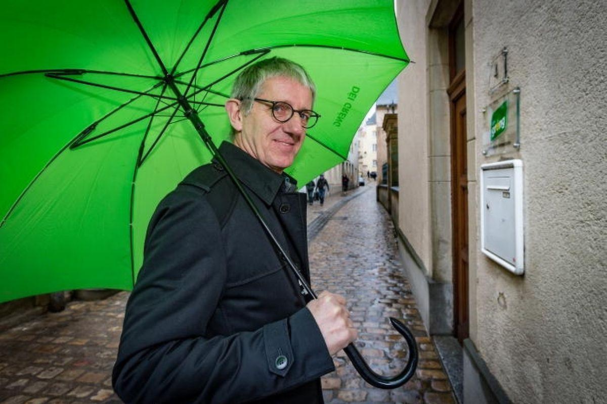 Claude Adam von den Grünen tritt nach 14 Jahren von der parlamentarischen Bühne ab.