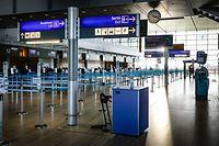 Beim Flughafen Findel heben derzeit noch keine Passagiermaschinen ab.