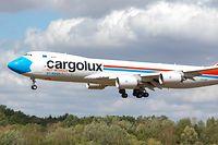 Newsdesk, Cargolux, LX-VCF Not Without my Mask, Findel, Boeing, Foto: Chris Karaba/Luxemburger Wort