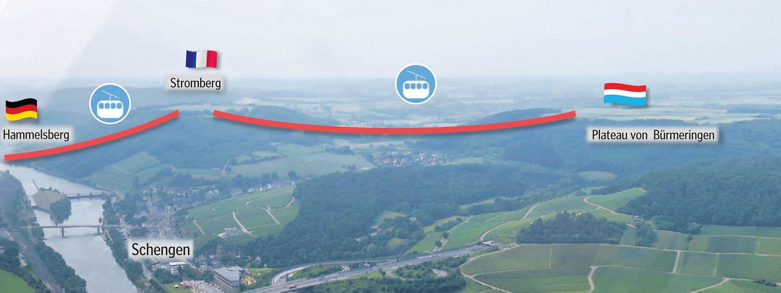 Der Clou an dem Konzept: Der Tourismus wird vom engen Tal auf die Berge ausgedehnt.