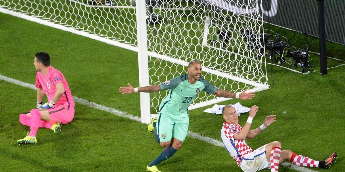 Ricardo Quaresma marcou o golo da vitória de Portugal aos 117m de jogo