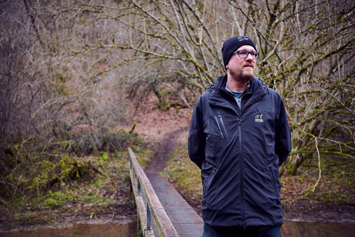 Laurent Schley, subdiretor da Administração da Natureza e das Florestas.