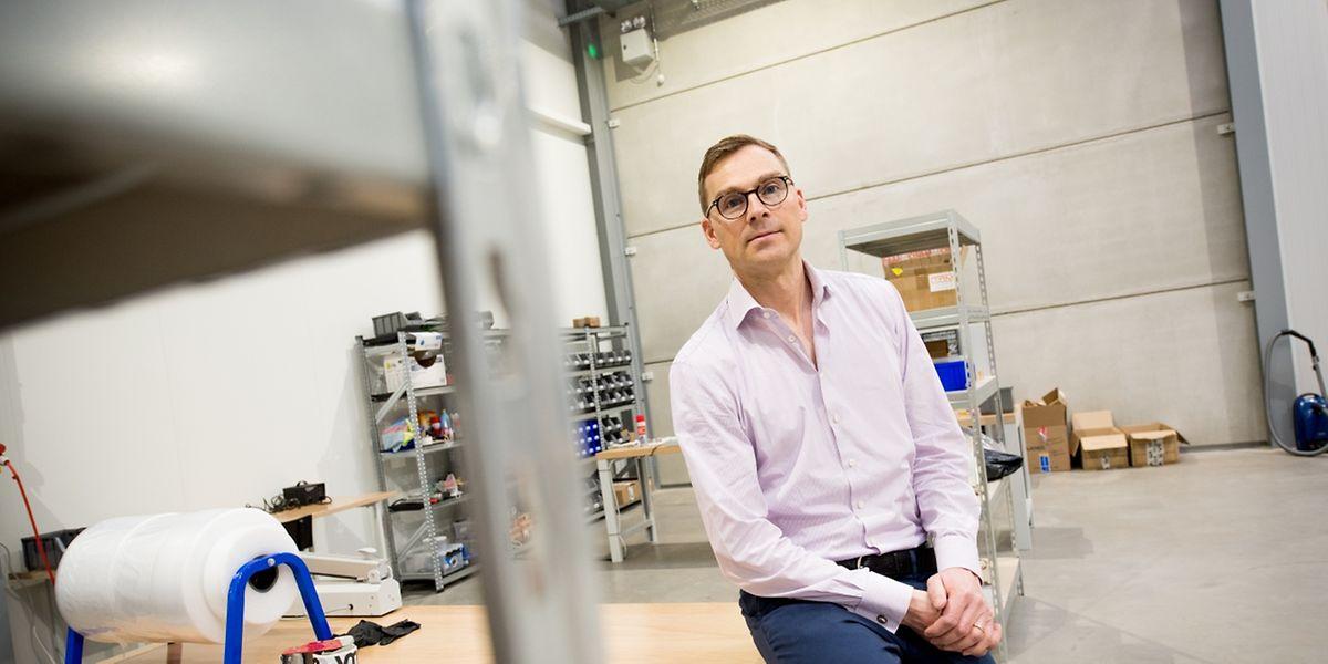 Morten Schiff ist der Gründer von Vibrationmaster. Der Jungunternehmer will von Luxemburg aus in Asien expandieren.