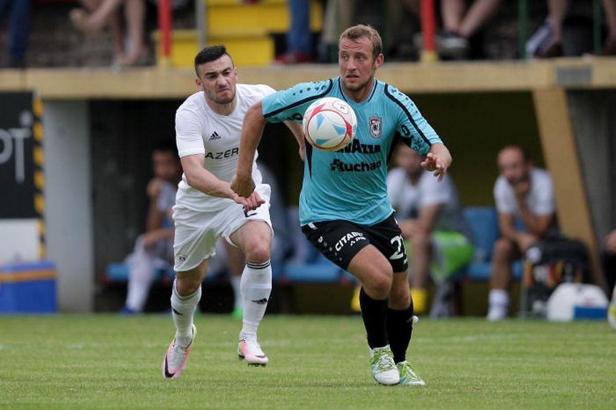 Dominik Stolz était déjà là en 2016, lors de l'affrontement contre Qarabag au 2e tour préliminaire de la Ligue des champions