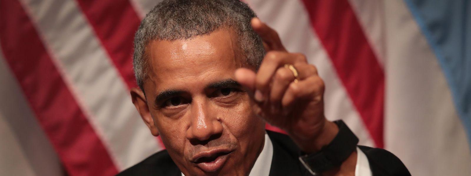 Obama meldete sich am Dienstag per Facebook zu Wort.