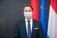Politik, ITV Xavier Bettel für Europa Tag, Foto. Lex Kleren/Luxemburger Wort