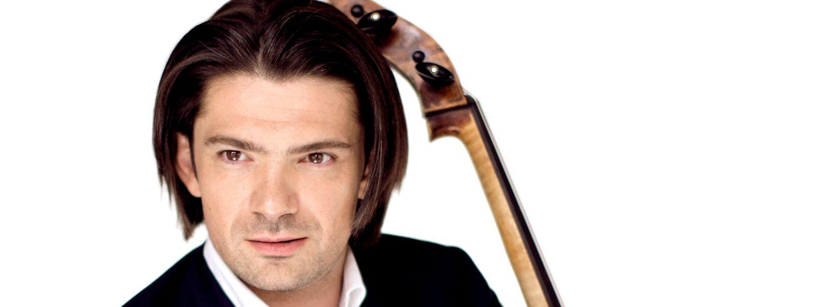 Gautier Capuçon brauchte einige Jahre, um sein Goffriller-Cello von 1701 kennenzulernen. Es abzubezahlen, wird aber noch länger dauern.