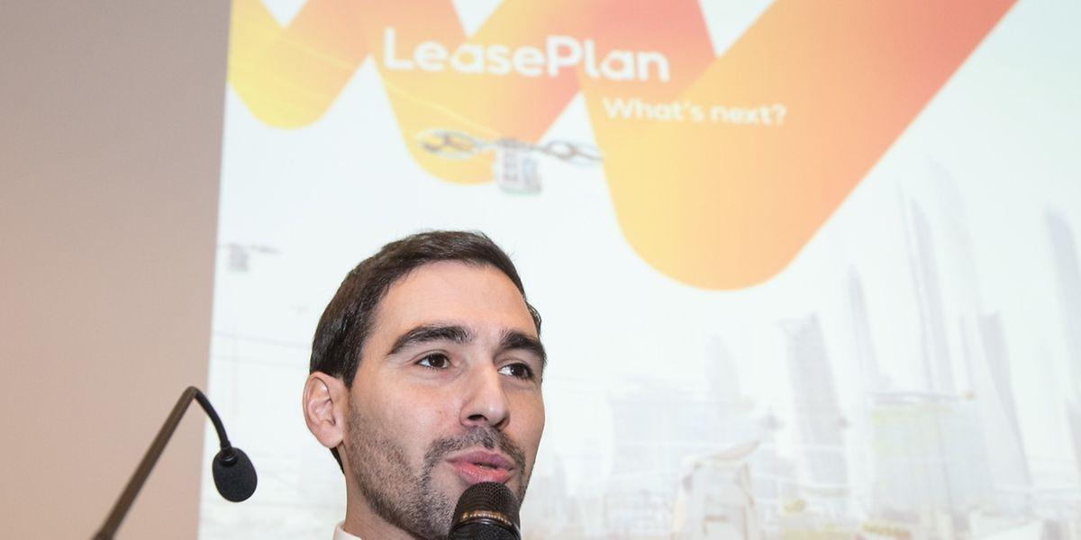 Le responsable de LeasePlan Luxembourg, Joel Fernandes, entend favoriser l'accélération de l'adopte des voitures électriques