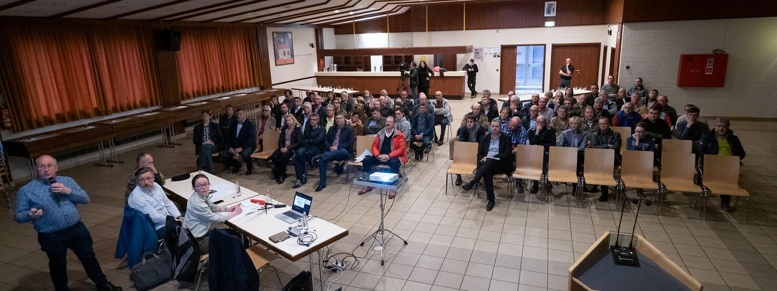 Etwa 70 Personen hatten den Weg am Donnerstagabend nach Küntzig gefunden.