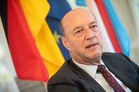 Politik,ITV Ulrich Klöckner-neuer deutscher Botschafter.Foto: Gerry Huberty/Luxemburger Wort