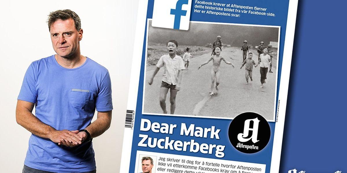 Chefredakteur Espen Egil Hansen ärgert sich über die wachsende Allmacht und Intransparenz bei Facebook.