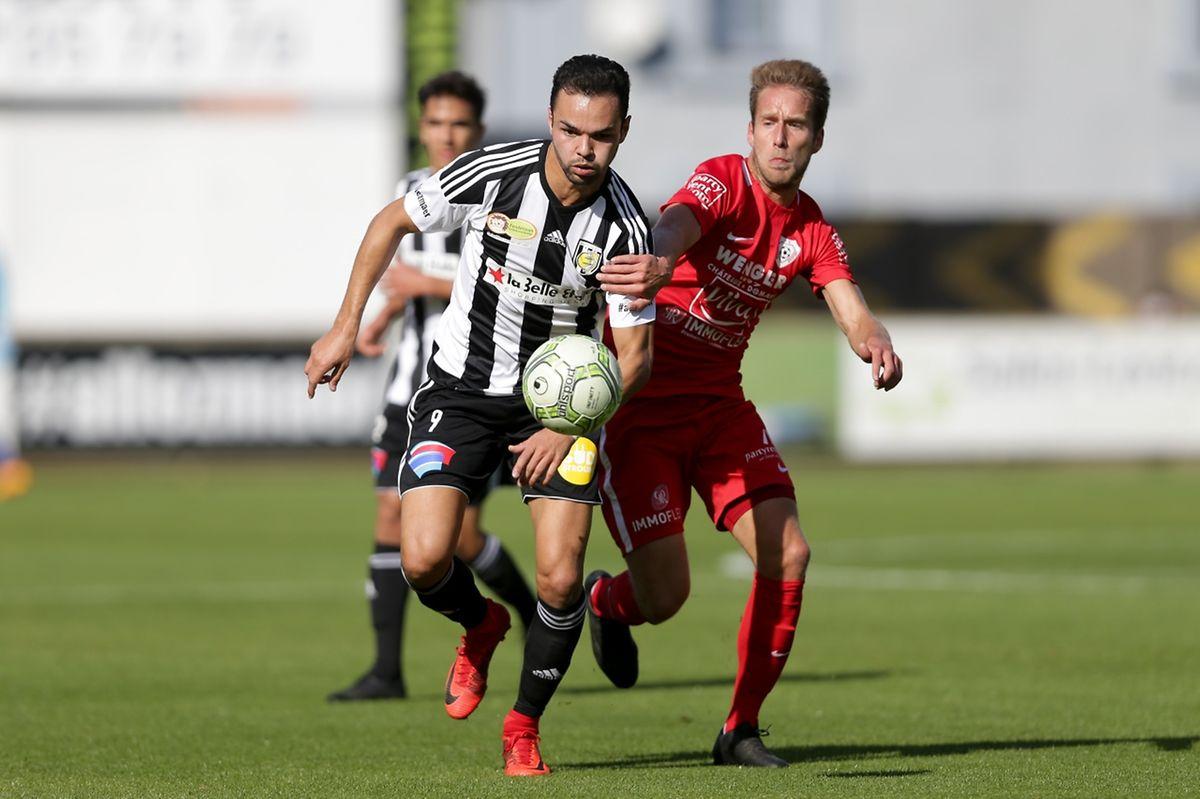 Antonio Luisi n'a pu faire mieux qu'offrir un point à la Jeunesse contre Rosport.