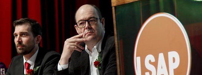 Yves Cruchten (à gauche) et Claude Haagen se représenteront tous deux, dimanche, pour être réélus à la tête du parti. .