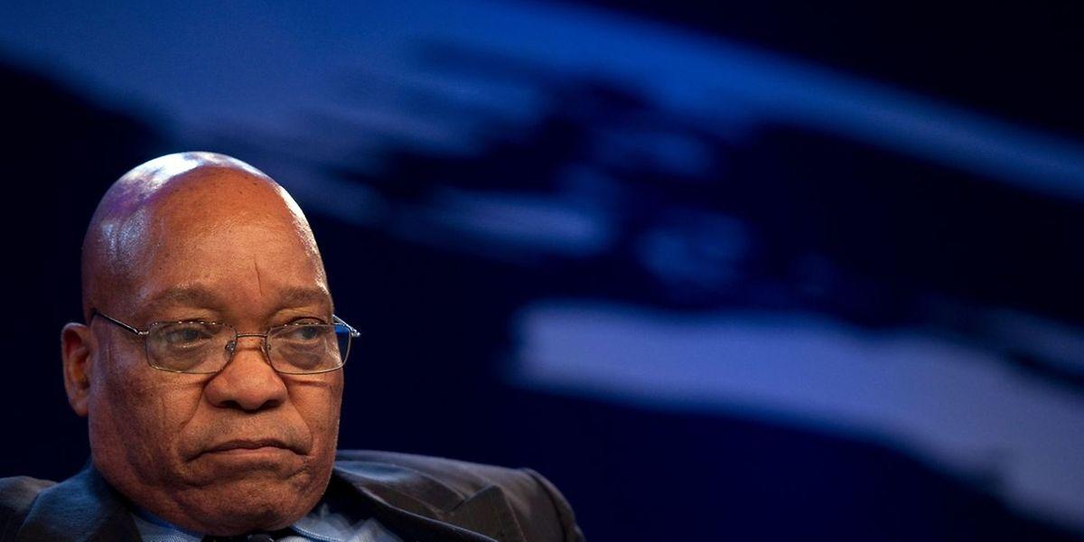 Der 75-Jährige Zuma steht im Zentrum massiver Korruptionsvorwürfe.