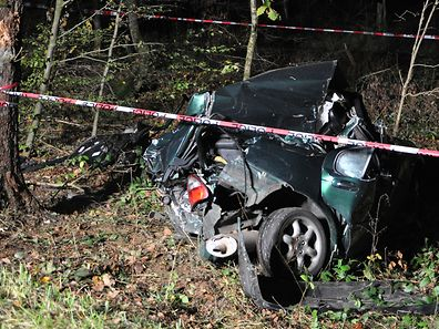 Der Fahrer verstarb noch an der Unfallstelle.
