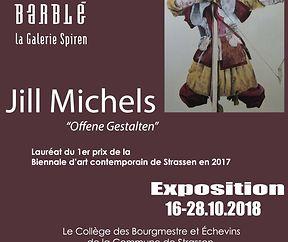 """Exposition Jill Michels """"Offene Gestalten"""""""