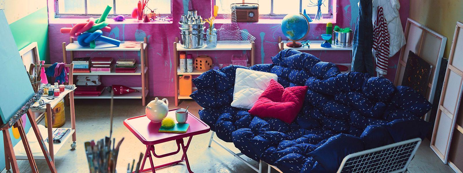 Wortex: Junge Designer für Ikea: Möbel für das kreative Chaos