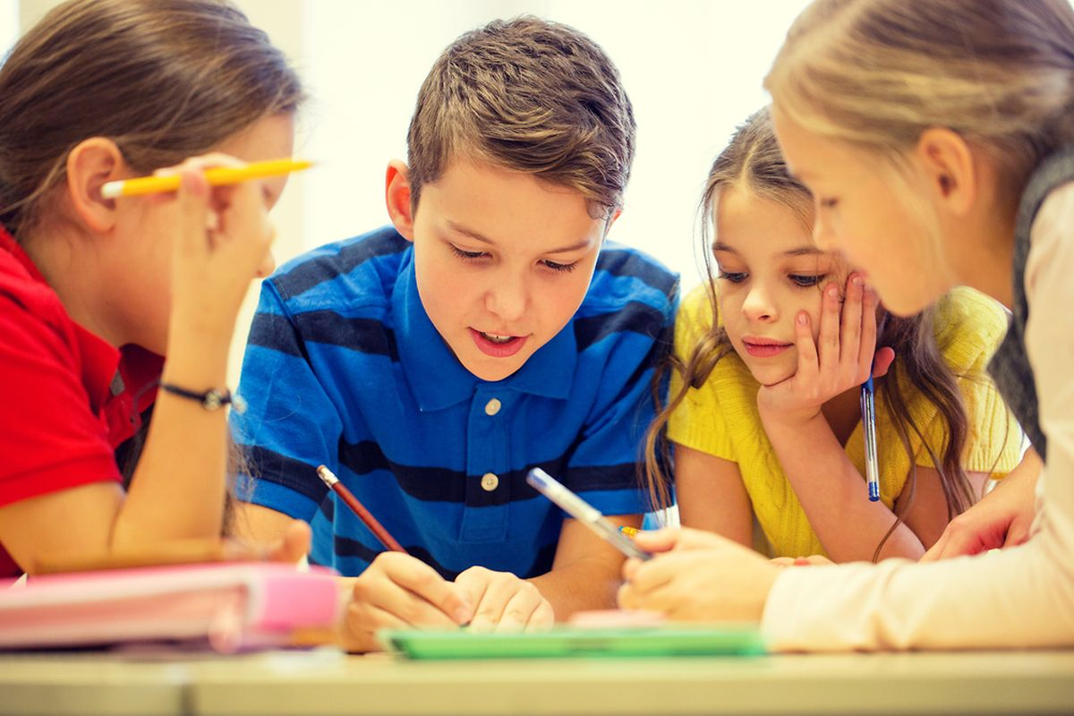 In classic secondary schools subjects are taught in German for the first three years then switch to French Photo: Shutterstock