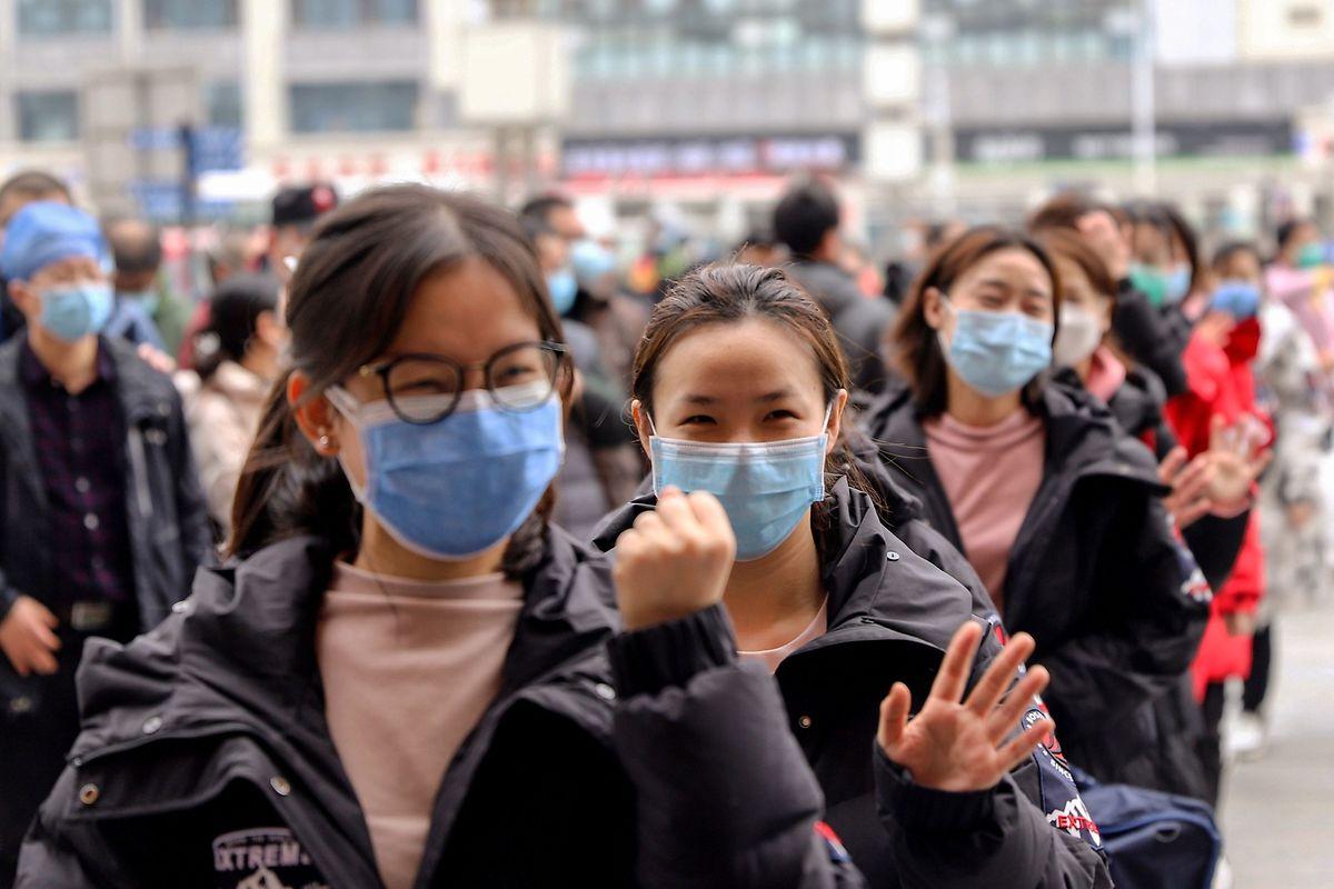 In China sind mittlerweile über 68.000 Infizierungen betätigt worden.