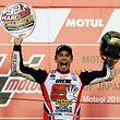 Victoire au Japon et titre mondial pour Marc Marquez.