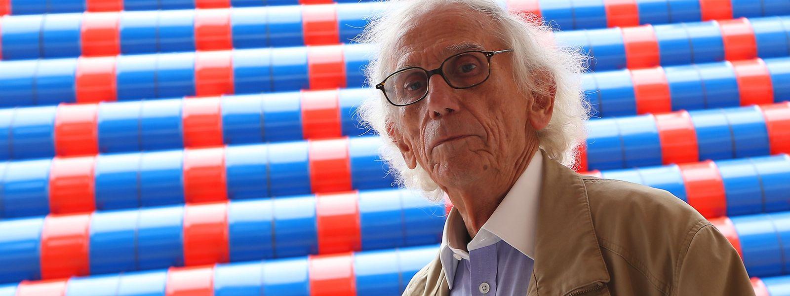 Avec son Mastaba, Christo ressuscite un projet né en 1967-68.