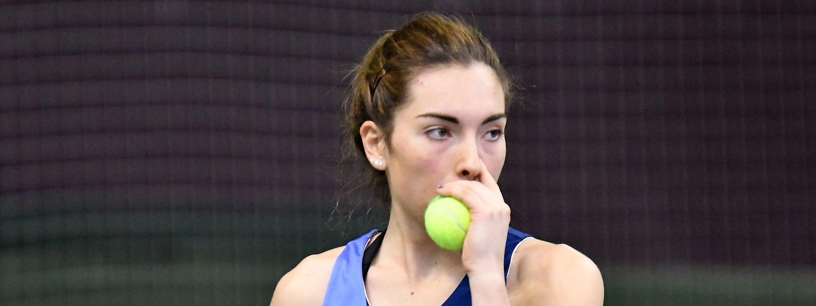 Eléonora Molinaro a quitté Roland Garros la tête haute après un parcours de haute tenue.