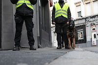Lokales, Sicherheitsbeamter Quartier Gare, Agent de Sécurité, GDL Security, Foto: Chris Karaba/Luxemburger Wort