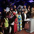 Lokales, Politik, Philharmonie, forum en présence du Grand-Duc et la Grande-Duchesse, , gala, Stand speak rise UP, Foto Anouk Antony