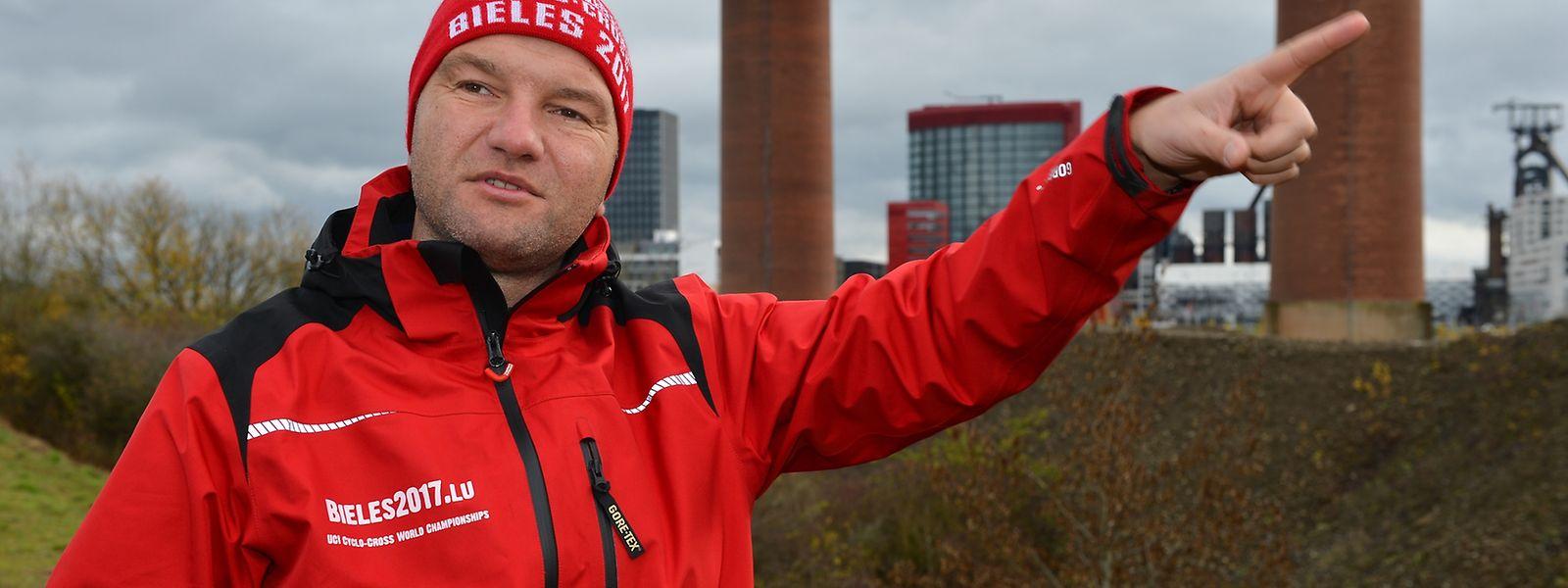Eric Leyder ist der Vorsitzende der Cyclocross-WM in Beles.