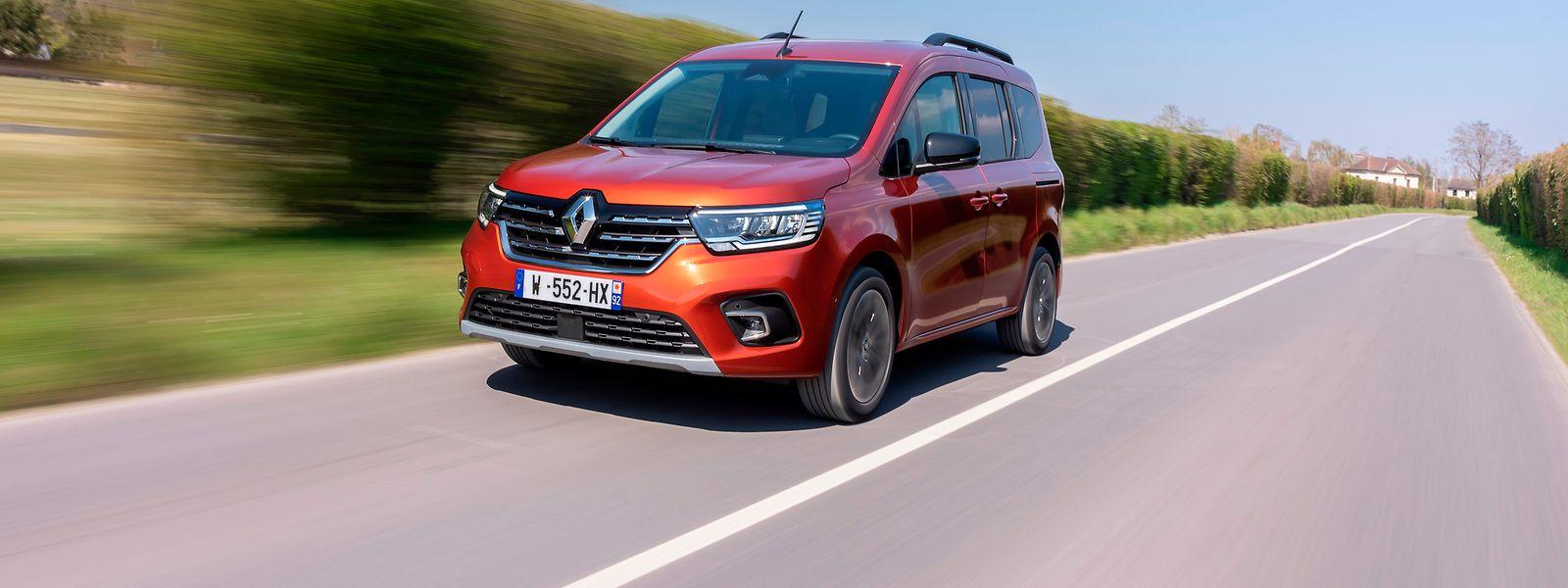 Der neue Renault Kangoo soll schon in einigen Wochen bei den Luxemburger Händlern vorfahren.