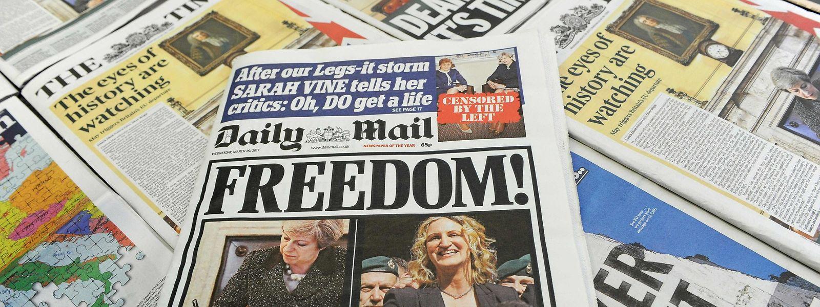 """""""Die Leute wollen, dass es endlich mit dem Brexit losgeht,"""" so die Meinung eines Brexit-Befürworters."""