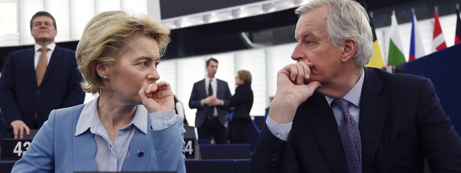 La Présidence de la Commission Ursula von der Leyen et le négociateur en chef de l'UE Michel Barnier sont sur la même longueur d'ondes.