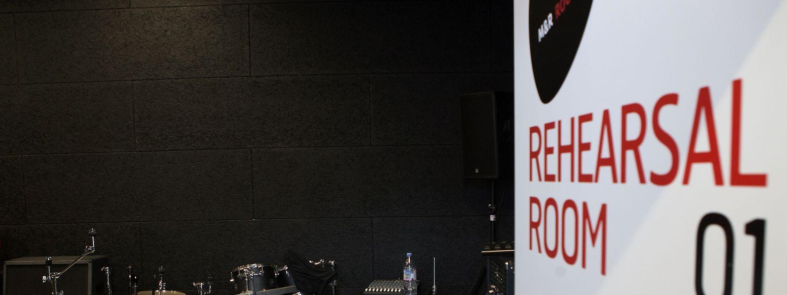 Le Rocklab dispose de six salles de répétition.