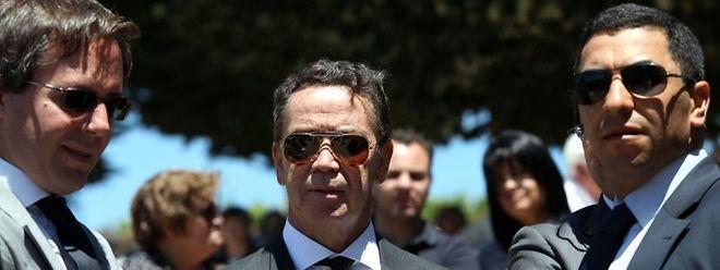 Manuel Pinho, ao centro.