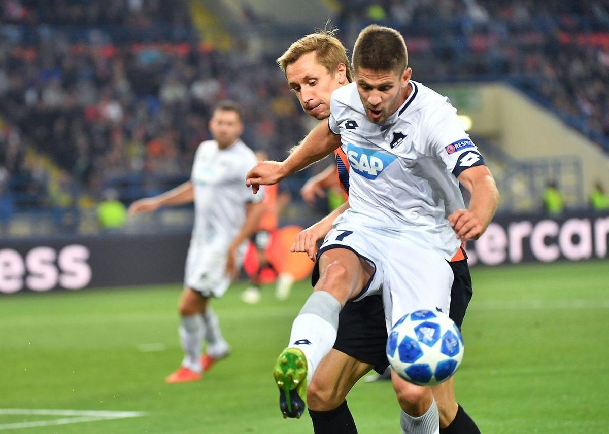 Andrej Kramaric est passé. Hoffenheim tenait le bon bout mais le Shaktar de Bohdan Butko est revenu.