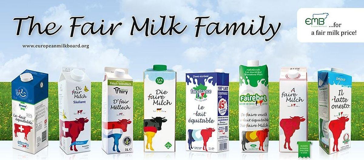 """Il n'y a pas qu'au Luxembourg que les produits laitiers """"équitables"""" font recette en Europe..."""